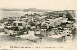 C4437 Cpa Maroc, Tanger, Vue Générae Prise De La Casbah - Tanger