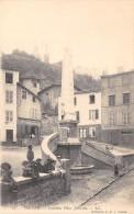 CPA 38 VIENNE FONTAINE PLACE JOUVENET - Vienne