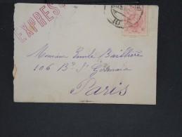 ESPAGNE - Enveloppe En Expres Pour Paris -  à Voir P7326 - Cartas