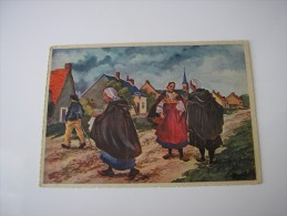 ILLUSTRATION D'HOMUALK  * ENVIRONS DE CHATEAUROUX *  EN PARCOURANT LE BERRY  (N° 11)  CPSM 1947 - Homualk