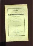 - NOTE SUR UN CACHET INEDIT D'OCULTISTE ROMAIN . PARIS 1891 . - 1801-1900