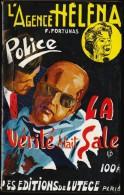 L´agence Héléna N° 19 - La Vérité était Sale - Francis Fortunas - Les éditions De Lutèce -( 1959 ) . - Lutèce, Ed. De