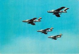 Aviation - Avions - Italie - Velivoli Dell' Aéronautica Militare Italiana - Aviogetti - Républic F84F - Thunderstreak - Avions
