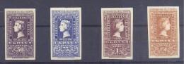 ESPAÑA EDIFIL Nº 1075/76 Y 1079/80 SERIE CORTA CVON Y SIN CHARNELA - España