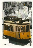 TRANSPORT TRAMWAY LISBONNE LISBOA  TRAMWAY ELECTRIQUE - Buses & Coaches