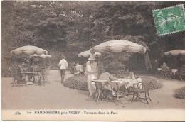L'ARDOISIERE Près VICHY - 03 - Terrasse Dans Le Parc -733 - - Vichy