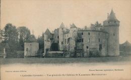 LABREDE - Vue Générale Du Château LABRÈDE (MONTESQUIEU) - France