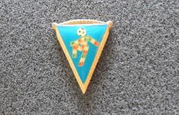 Pin  Mascotte Italia '90 Gagliardetto -P254 - Calcio
