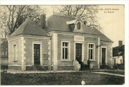 Carte Postale Ancienne Argy - La Mairie - France