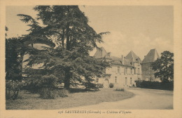 SAUTERNES - Château D' YQUEM - Sonstige Gemeinden