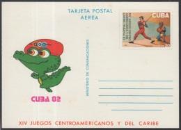 1982-EP-57 CUBA 1982. Ed.131. POSTAL STATIONERY. TARJETA POSTAL. XIV JUEGOS CENTROAMERICANOS. GAMES. SPORTS. UNUSED.