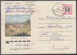 1982-EP-74 CUBA 1982. Ed.191d. POSTAL STATIONERY. ENTERO POSTAL. J. MARTI. MIRADOR DE MAYABE. VARADERO. USED.