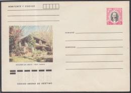 1982-EP-81 CUBA 1982. Ed.191m. POSTAL STATIONERY. ENTERO POSTAL. J. MARTI. ESCALERAS DE JARUCO. HABANA. UNUSED.