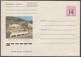 1982-EP-83 CUBA 1982. Ed.191h. POSTAL STATIONERY. ENTERO POSTAL. J. MARTI. RANCHO SAN VICENTE. UNUSED.