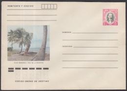 1982-EP-86 CUBA 1982. Ed.191h. POSTAL STATIONERY. ENTERO POSTAL. J. MARTI. PLAYA BIBIJAGUA. ISLA DE LA JUVENTUD. UNUSED.