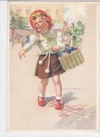 CARD HOLZER BIMBA RITORNA DAL MERCATO-FG-N-2-0882- 23872 - Holzer, Adi