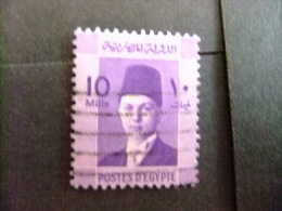 EGIPTO - EGYPTE - EGYPT - UAR - 1937 - 44 EFFIGIE DU ROI FAROUK Yvert & Tellier Nº 192 º FU - Ägypten