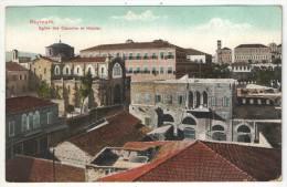 BEYROUTH - Eglise des Capucins et H�pital