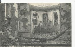 Fenneviller  Guerre 1914-18 Interieur De L-Eglise - Francia
