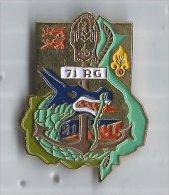 Pin´s 71ème Régiment Du Génie RG OISSEL - Army