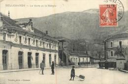 BELLEGARDE SUR VALSARINE LA GARE ET LE SORGIA - Bellegarde-sur-Valserine
