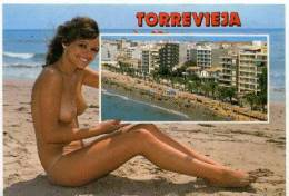 NU à TORREVIEJA - Nus Adultes (< 1960)