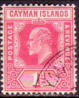 Cayman Islands 1907 SG #26 1d VF used