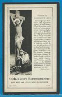 Bidprentje Van Jules-François Catteeuw - Wervik - 1858 - 1926 - Images Religieuses