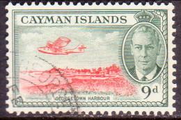 Cayman Islands 1950 SG #143 9d VF used airplane