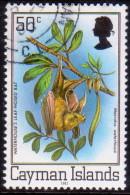 Cayman Islands 1982 SG #522B 50c VF used Flora and Fauna imprint 1982