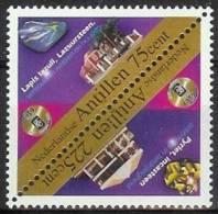 Mek1245 MINERALEN GEMSTONES MINERALIEN UND GESTEINE MINÉRAUX 60 YEAR COOPER & LYBRAND NEDERLANDSE ANTILLEN 1998 PF/MNH - Mineralen