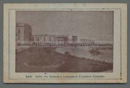 U4654 BARI SALITA VIA VENEZIA E LUNGOMARE CRISTOFORO COLOMBO FP (tur) - Bari