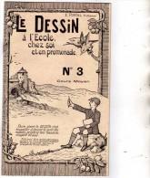 E. PORTAL Professeur - Le Dessin à L'école, Chez Soi Et En Promenade - N°3 - Cours Moyen - Stamps