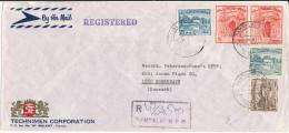 Pakistan Registered Cover Sent To Denmark 24-5-1973 - Pakistan