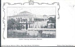 Carte postale Postcard 1905 B.S.M. Training Institution British Syrian Mission Beyrouth Beirut Lebanon Liban Libano