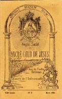 Adveniat  Regnum  Tuum! -Règne Social Du Sacré Coeur De Jésus Dans Les Familles Chrétienne-oeuvre De L'intronisation-N°3 - Francobolli