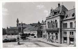 KORNEUBURG (NÖ) Hauptplatz, Autobus, 1955 - Korneuburg