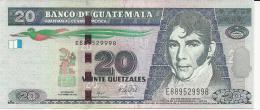 GUATEMALA 20 QUETZALES 2008 PICK 118 UNC - Guatemala