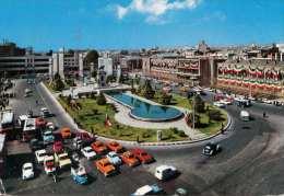 IRAN - TEHERAN, TOOP KHANA SQUARE, Viele Autos, Karte Gel.1972, 10? Freistempel, Sonderstempel - Iran