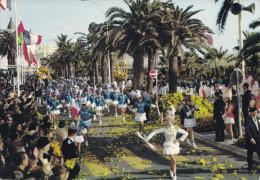 BATAILLE DE FLEURS ET DEFILE DE  MAJORETTES (dil187) - Cannes
