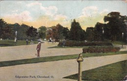 Ohio Cleveland Scene In Edgewater Park 1911