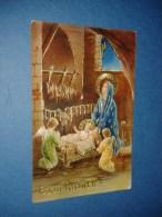 M2723 AUGURI BUON NATALE 1952 VIAGGIATA - EDITORE CECAMI - SERIE 4362 - Noël