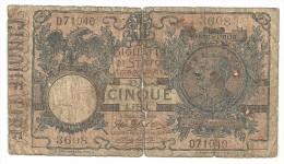 Italy 5 Lire 5/11/1914 - [ 1] …-1946 : Kingdom
