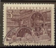 Czechoslovakia - Used (o)  - 1951 -  # 653/654-  See Photo´s - Czechoslovakia