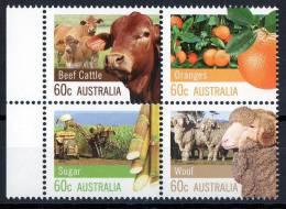 Australia 2012 Farming 60c Block Of 4 MNH - Neufs