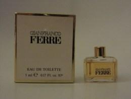 Gianfranco Ferre - Eau De Toilette - Miniatures Modernes (à Partir De 1961)