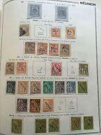 COLONIES FRANÇAISES RÉUNION: Collection De Timbres 1885/1947 Dont Colis Postaux - France (former Colonies & Protectorates)