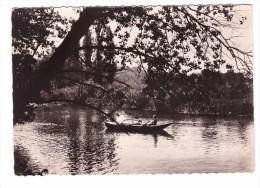 77 Saint Jean Les Deux Jumeaux Par Changis Cachet Changis 1952 , Barque Rameur - Autres Communes