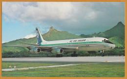 AK Flugzeug DC-8 ´Air New Zealand´ - 1946-....: Era Moderna