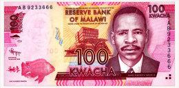MALAWI 100 KWACHA 2012 Pick 59a Unc - Malawi
